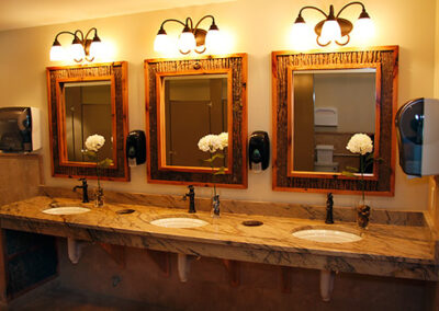 Forge Valley Event Center | Hendersonville, Brevard, Asheville | beautiful women's restrooms, bathrooms, facilities