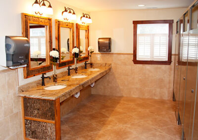 Forge Valley Event Center | Hendersonville, Brevard, Asheville | beautiful women's restrooms