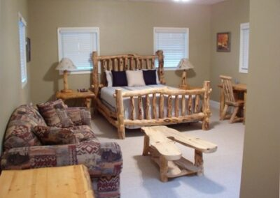 Forge Valley Event Center | Hendersonville, Brevard, Asheville | the cottage master bedroom